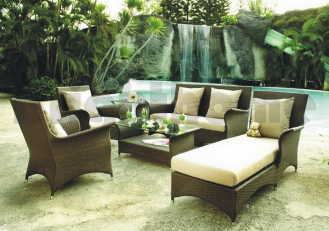 outdoor furniture ideas landscape